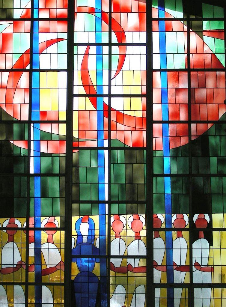 Mittragen auch im Gebet / Bild: Pfingstbild Ferdinand Gehr in Suhr