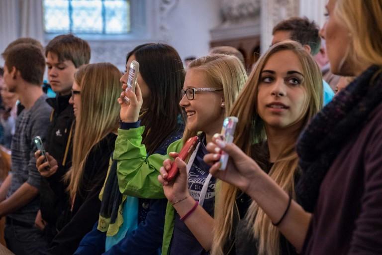 Kirchliche Jugendarbeit ist vielschichtig. Dieses Bild ist am Bistumsjugendtreffen 2015 in Luzern entstanden. | © 2015 Roberto Conciatori