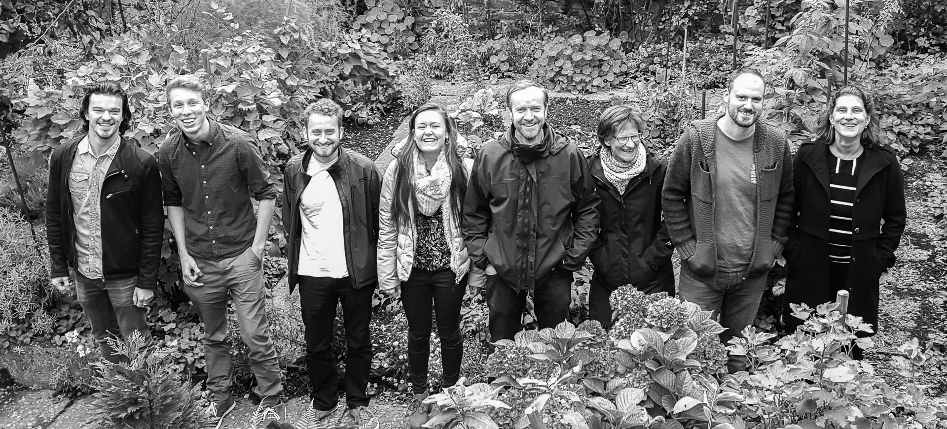 Das Team der Hochschulseelsorge im Herbst 2015.