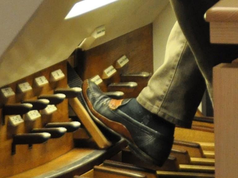 Die Orgel ist das Hauptinstrument in der Kirchenmusik. | © 2012 Marina Greminger