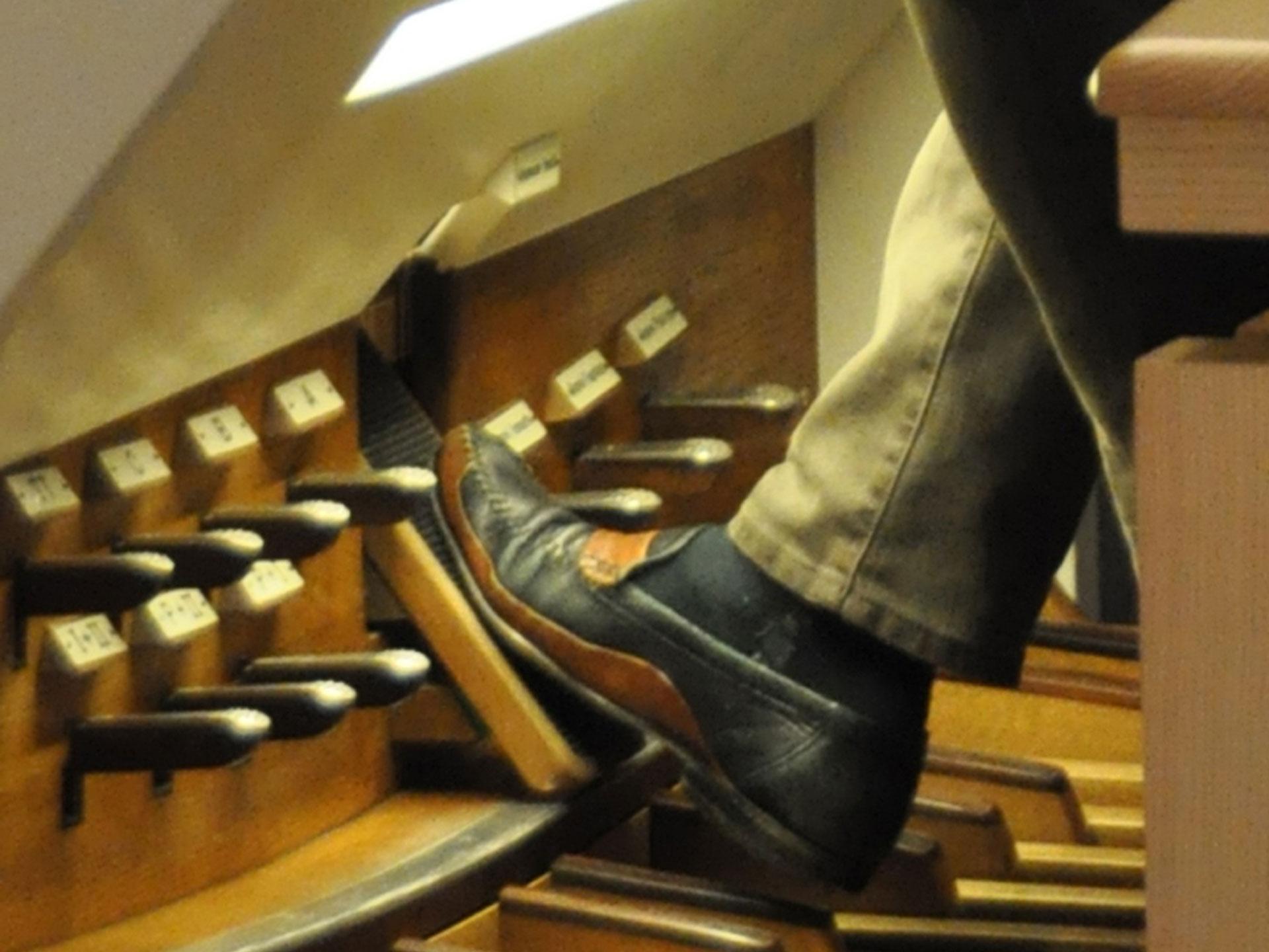 Die Orgel ist das Hauptinstrument in der Kirchenmusik.   © 2012 Marina Greminger