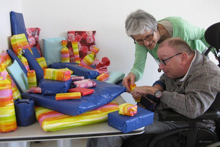 Eindrücke aus dem Ferien- und Besinnungskurs 2016 für Menschen mit einer körperlichen Behinderung in Delsberg. | © 2016 Behindertenseelsorge