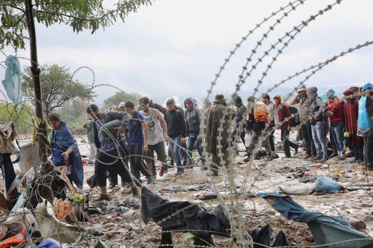 Flüchtlingselend - auch in Europa: einfache Lösungen gibt es nicht. | © 2015 Caritas internationalis