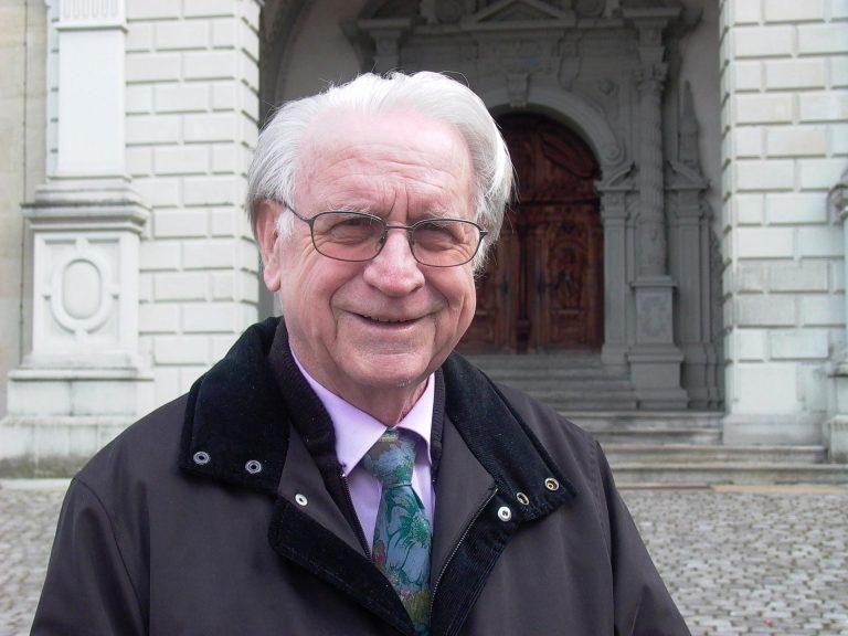Johannes Amrein war der erste Regionaldekan für den Kanton Luzern. Am 12. September 2016 ist er verstorben. Das Bild entstand 2007. | © 2007 zVg