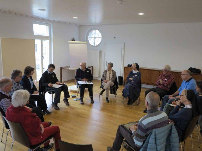 Engagierte Diskussionen, unterschiedliche Erfahrungen: Austausch in einem der sieben Workshops. | © 2016 Walter Ludin