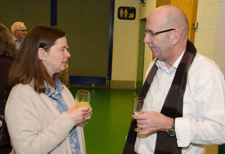 Synodalrätin Ruth Mory-Wigger und Patrick Emmenegger, Kirchmeier von Schüpfheim. | © 2016 Dominik Thali