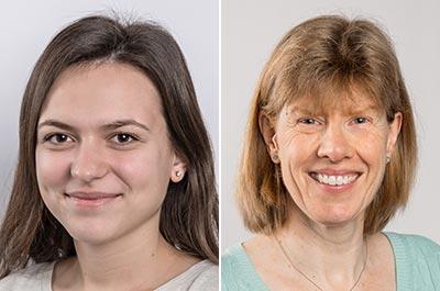 Kristina Gjetay und Cornelia Burri