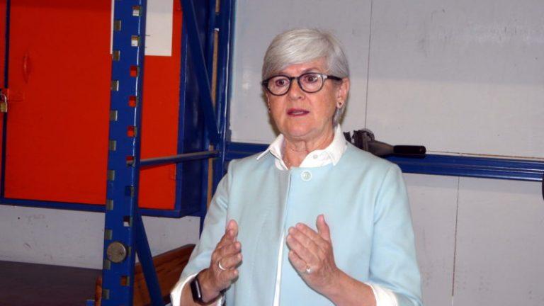 Yvonne Schärli, designierte neue Präsidentin des Vereins Caritas Luzern. | © 2017 Sylvia Stam, kath.ch