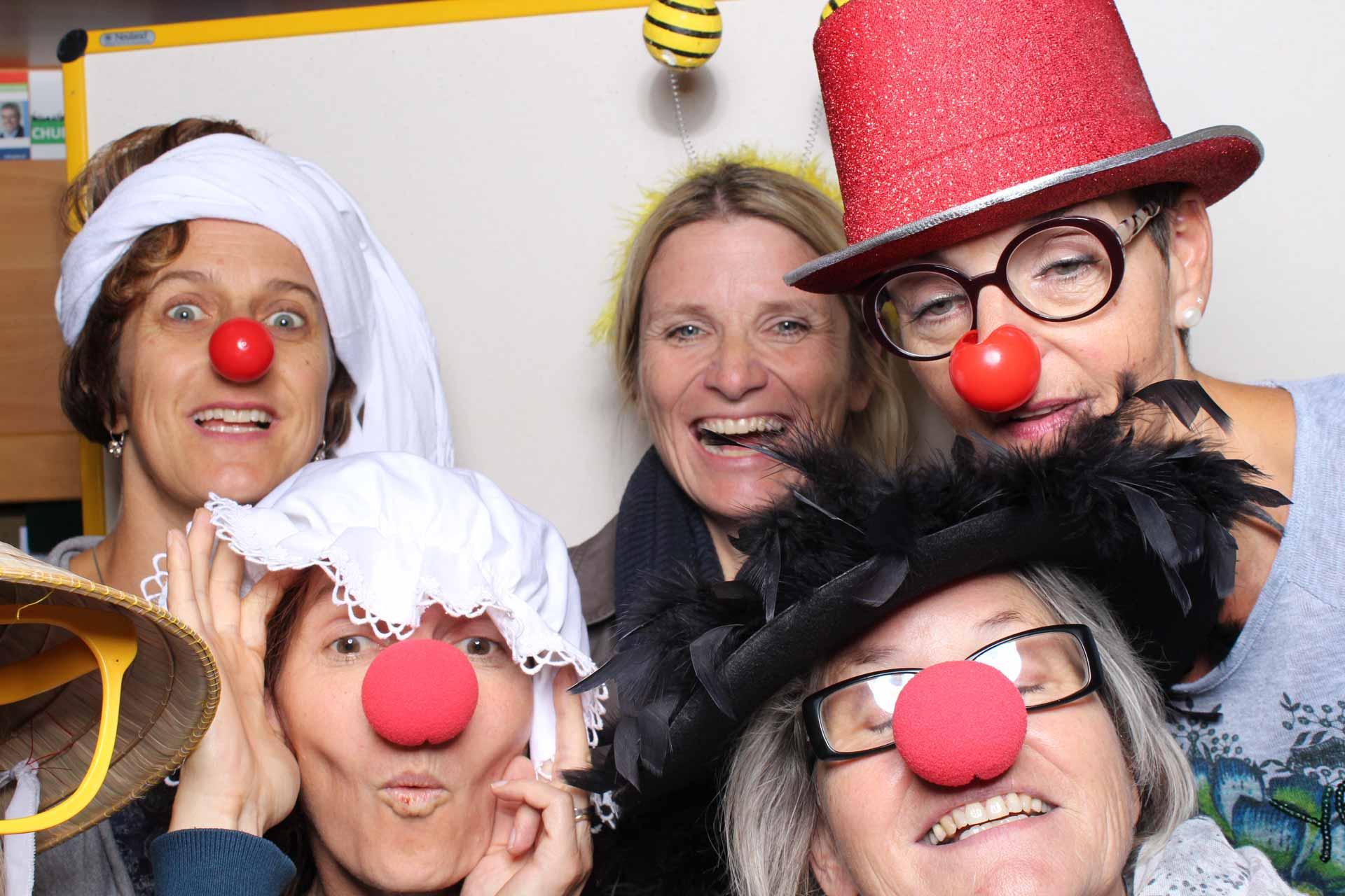 Humor ist eine Kraftquelle auch in der Katechese: Eines der Selfies vom diesjährigen Begegnungstag in Aarau.  | © 2017 zvg