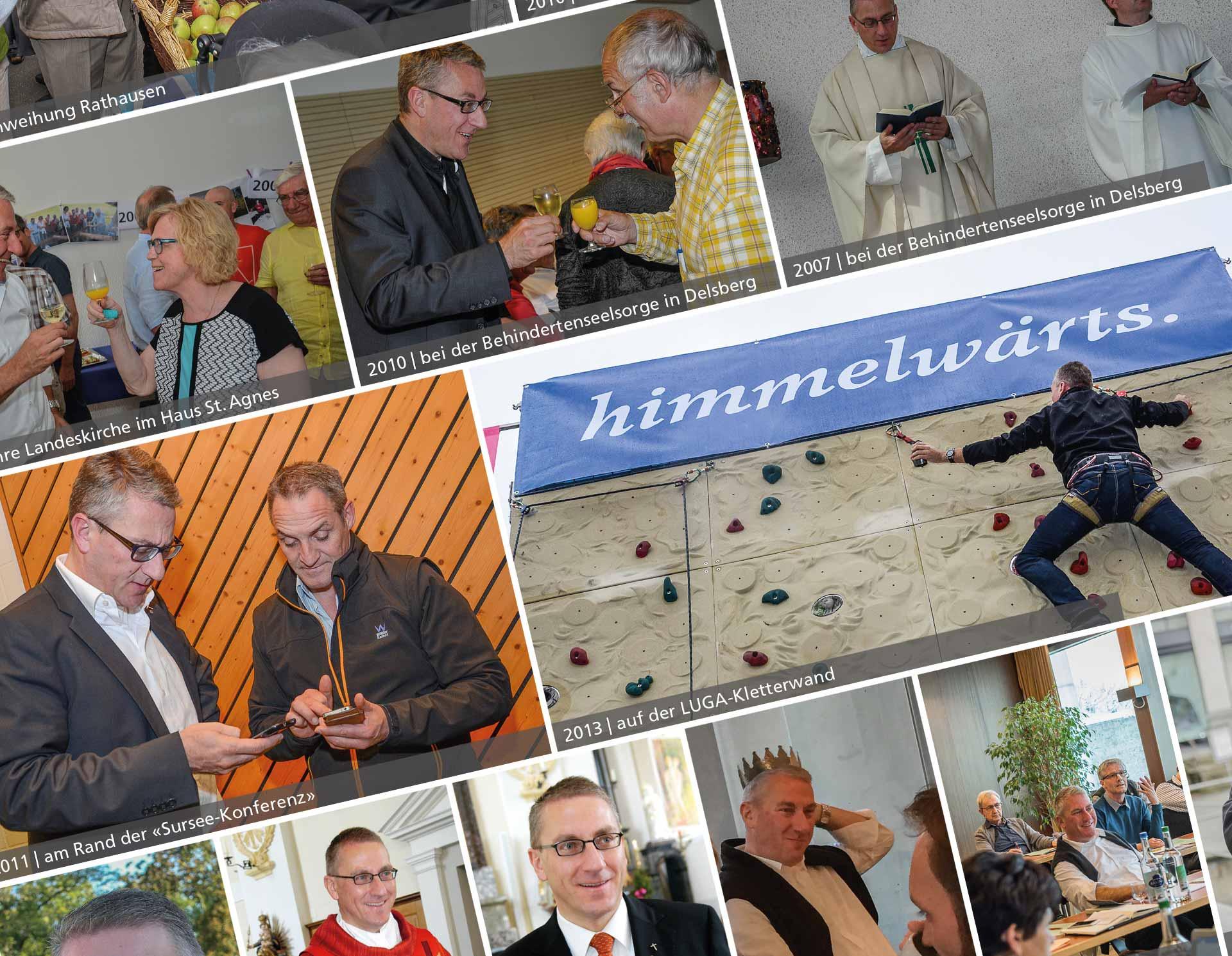 Bischofsvikar Ruedi Heim - ein bildlicher Gang durch sein fast 14-jähriges Wirken auch im Kanton Luzern. | © 2017 lukath.ch