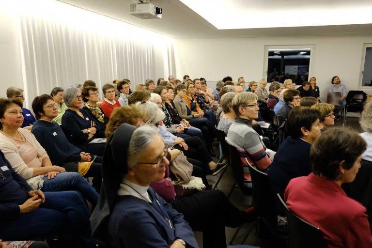 Rund 70 Interessierte nahmen an dem Anlass teil. | © 2018 Gregor Gander