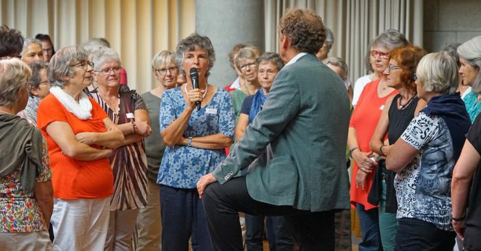 Diskutieren über Sorgekultur – bei der Fachtagung Mitte September. | © 2018 Caritas Luzern