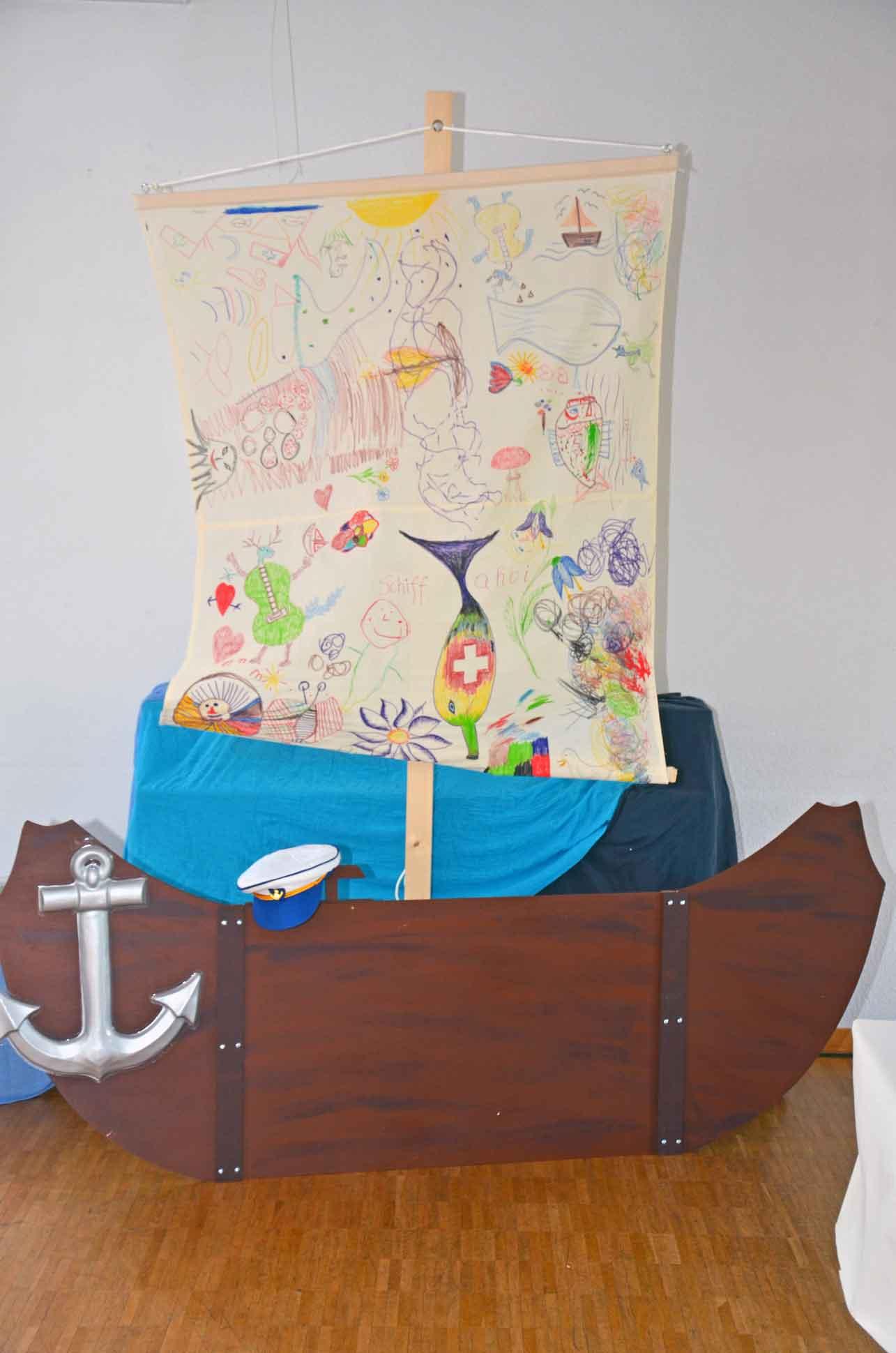 Schiff zu verschenken. | © 2018 Katholische Kirche Luzern