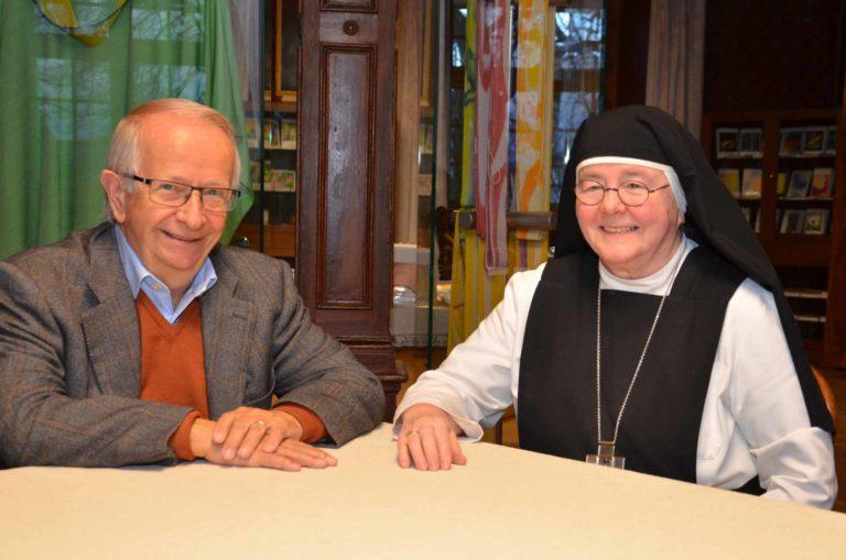 Paul Twerenbold und Äbtissin Ruth Nussbaumer bilden mit Priorin Christa die Geschäftsleitung der Stiftung Frauenkloster Eschenbach. | © 2019 Dominik Thali