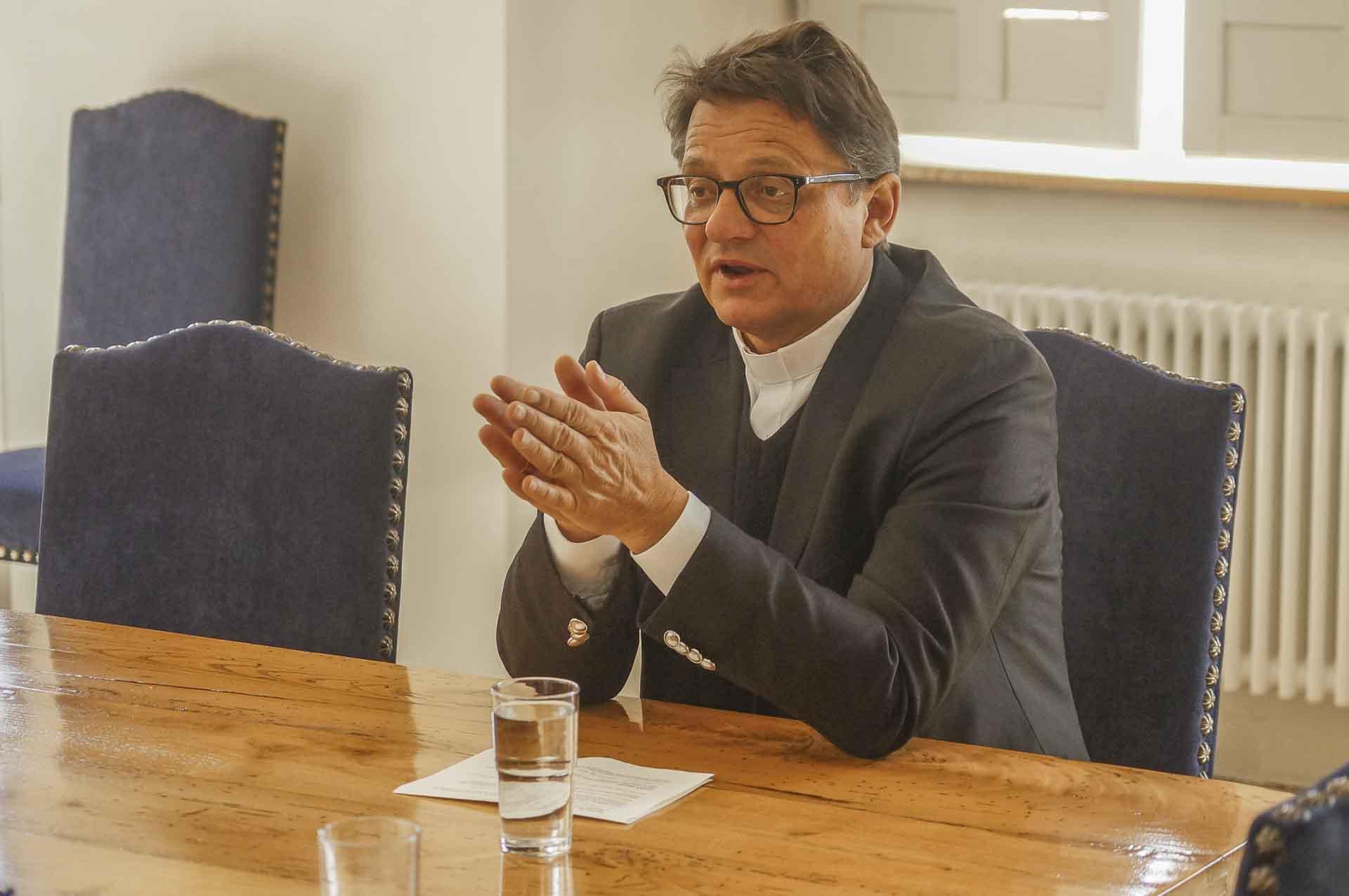 «Die Kirche muss die Strukturen, die Fehlverhalten begünstigen, überdenken»: Felix Gmür, Bischof des Bistums Basel und Präsident der Schweizer Bischofskonferenz. | © 2019 Detlef Kissner