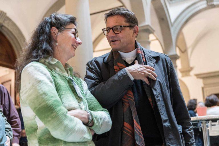 Bernadette Bircher (Luzern), Bischof Felix Gmür. | © 2019 Roberto Conciatori
