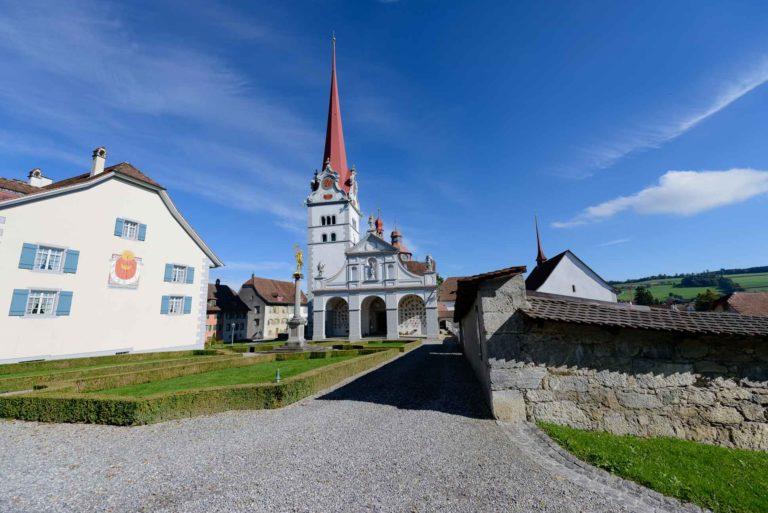 Geschützter Sakralbau: Das Stift Beromünster ist im kantonalen Denkmalverzeichnis Luzern aufgeführt. | © 2019 Gregor Gander