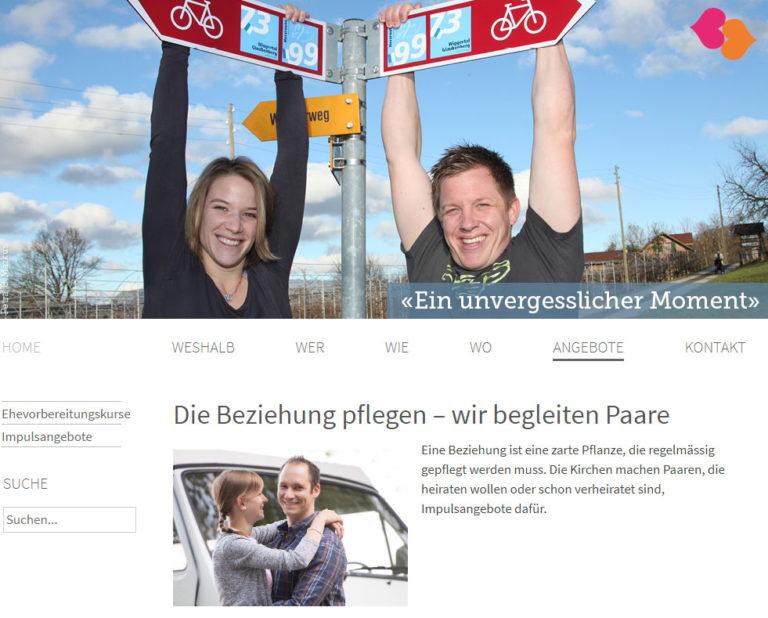 Printscreen der Webseite kirchlich-heiraten.lu