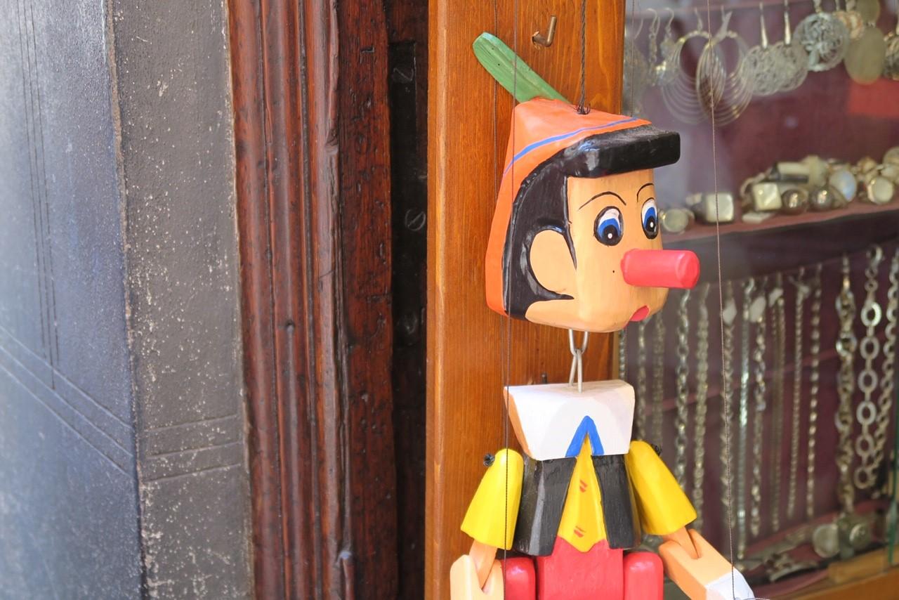 Pinocchio in Siena | © 2018 Fleur Budry