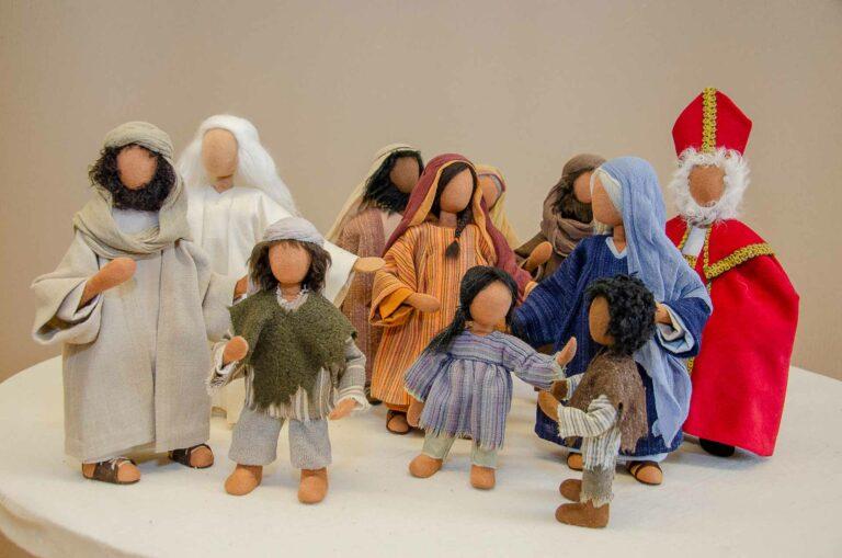 Biblische Figuren Schwarzenberg von Claudia Oeschger | © 2019 Dominik Thali