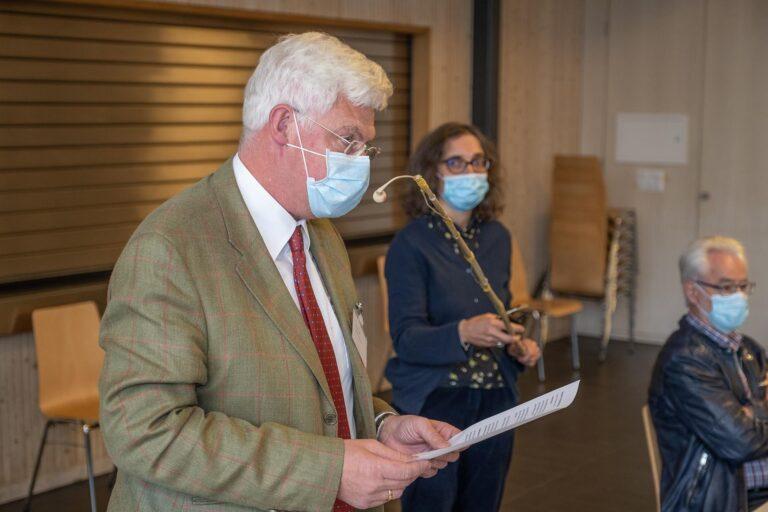 GPK-Präsident Rupert Lieb (Meggen).  | © 2020 Dominik Thali