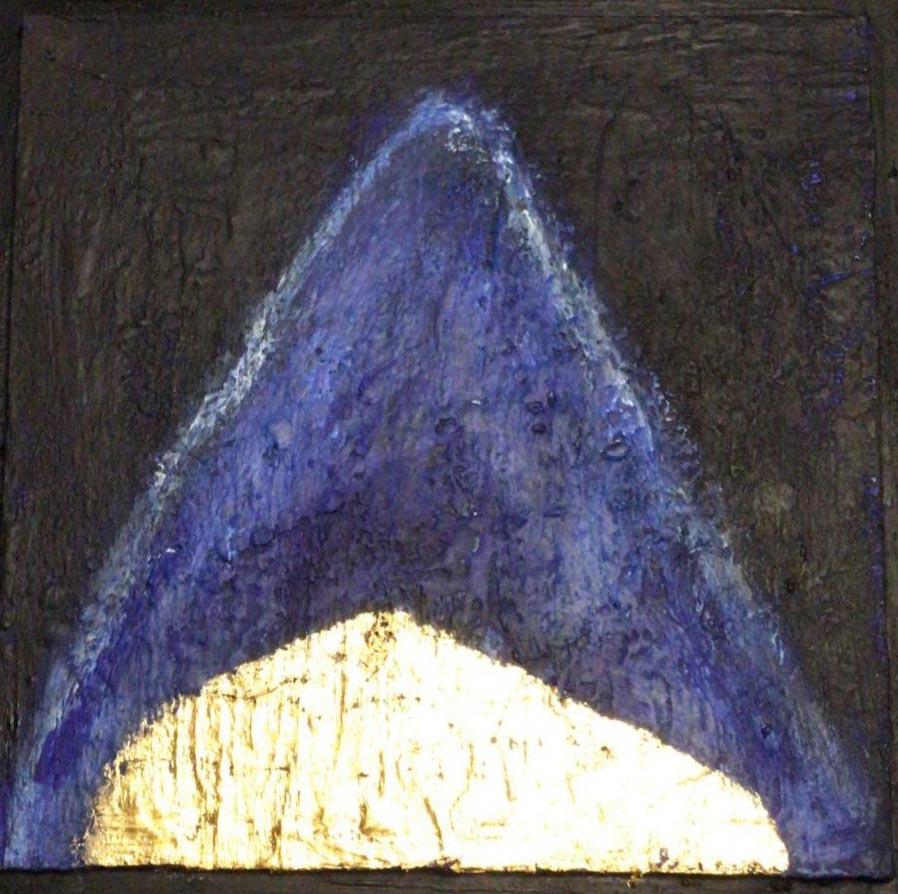 «Zelt» von Irene Dworak-Dorowin, in Privatbesitz von Regula Grünenfelder