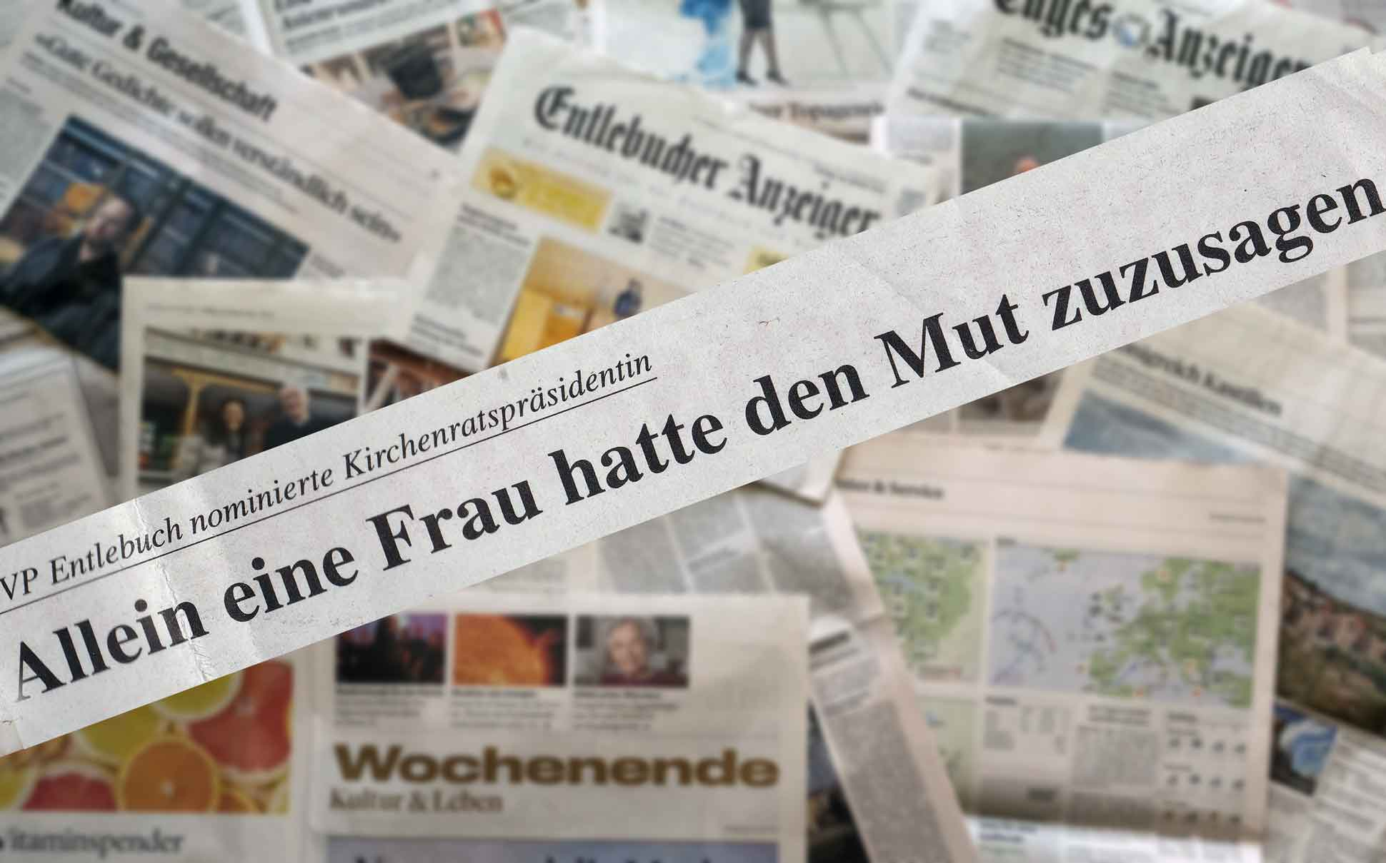 Schlagzeile | © Fleur Budry