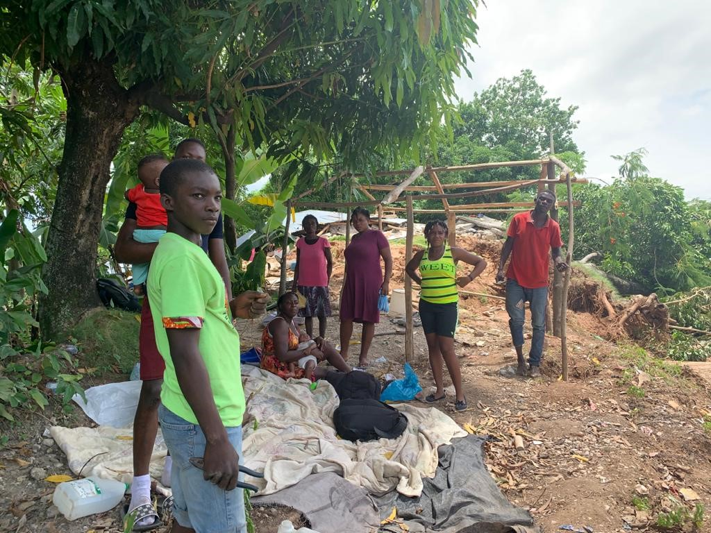 Nach 2010 hat ein neuerliches schweres Erdbeben in Haiti schwere Schäden angerichtet. | © 2021 Harnel Casseus / Caritas Schweiz