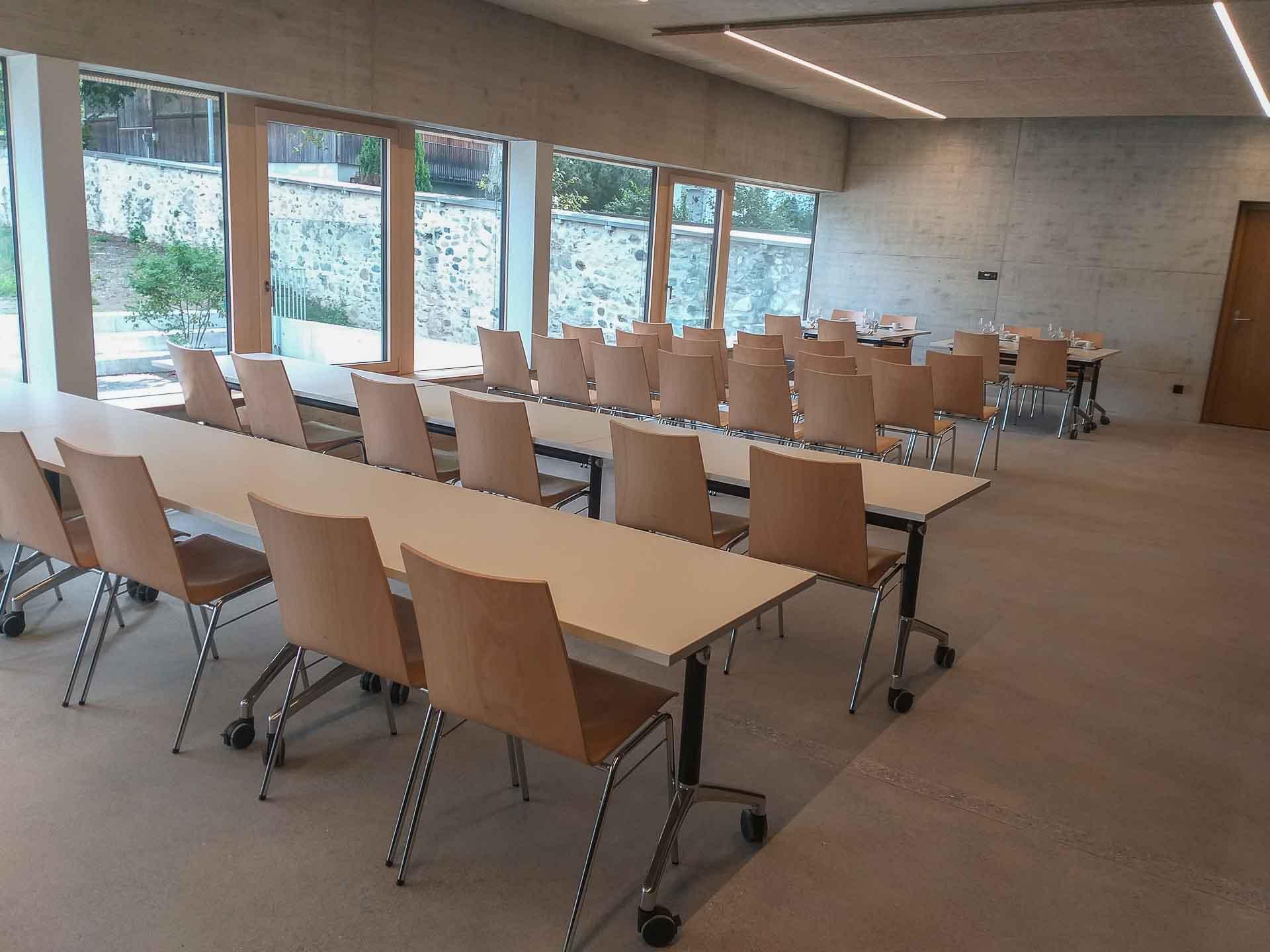 Der neue Begegnungsraum der Migrantenseelsorge im neuen Pfarreizentrum Sursee. | © 2021 Hans-Peter Bucher